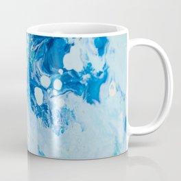 Liquid Blues and Greens Coffee Mug