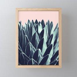 Agave Chic #6 #succulent #decor #art #society6 Framed Mini Art Print
