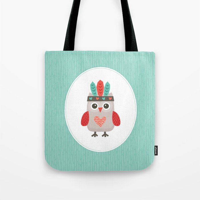 HIPSTER OWLET alternate version Tote Bag