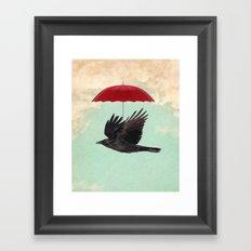 Raven Cover Framed Art Print