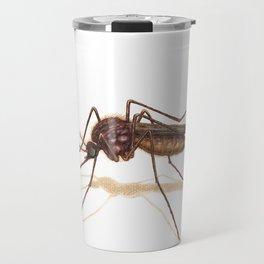 Mosquito by Lars Furtwaengler | Colored Pencil / Pastel Pencil | 2014 Travel Mug