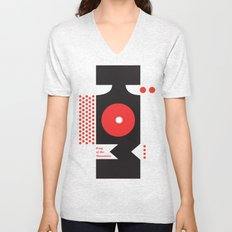 King of the Mountains, Abstract 1 Unisex V-Neck