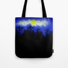 Spooky Forest Engulfs The Light Tote Bag