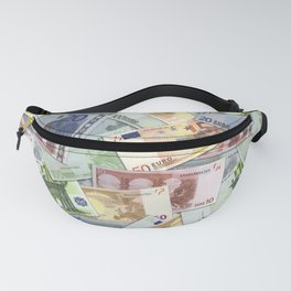 Art of the euro money Fanny Pack