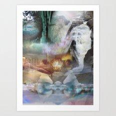 washed away Art Print