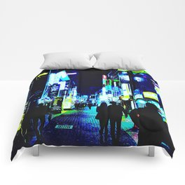 Busan Nights Comforters