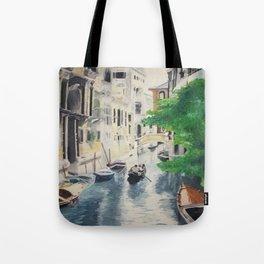 Venice digital print Tote Bag