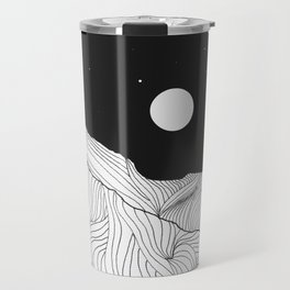 Lines in the mountains II Travel Mug