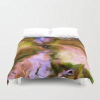 big bang Duvet Covers featuring The Big Bang by Just Art