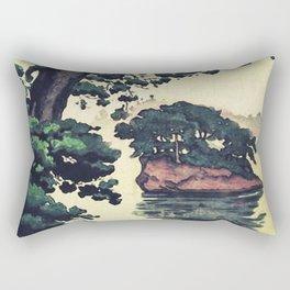 Autumn Rain in Yama Rectangular Pillow