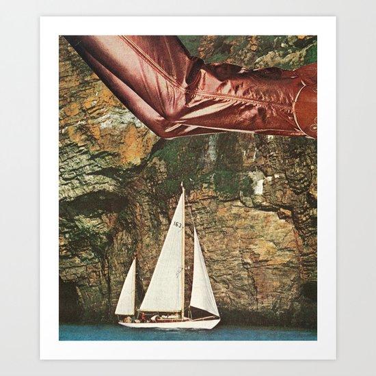 freefall Art Print