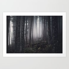 tell me about the forest Art Print