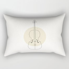Cello II Rectangular Pillow