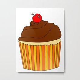 I Love Cupcakes Metal Print