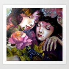 Protection Between Us Art Print