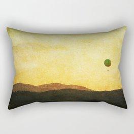 Riasing Above Rectangular Pillow