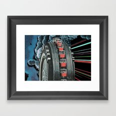 Rugged Splendour Framed Art Print