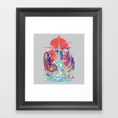 Smash! Zap!! Zooom!! - Generic Spacecraft Framed Art Print