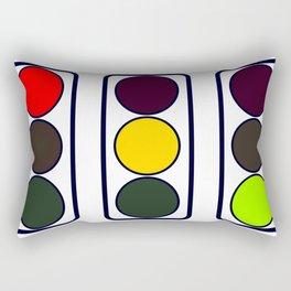 Traffic Lights Rectangular Pillow