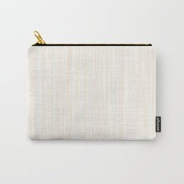 Light Wood Texture Carry-All Pouch