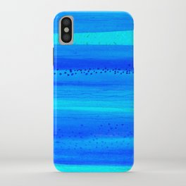 Blue Sky Blue Waters iPhone Case