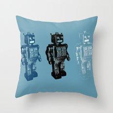 Automaton March Throw Pillow