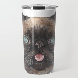Der the Cat - artist Ellie Hoult Travel Mug