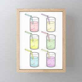 Let's drink to pride Framed Mini Art Print