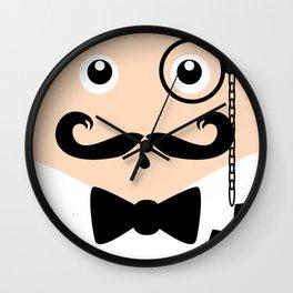 The Gentleman Wall Clock