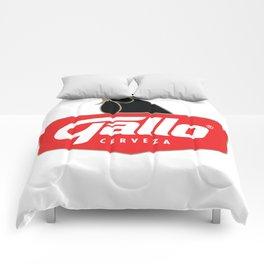 Gallo Cerveza - Best Beer In Guatemala Central America Comforters