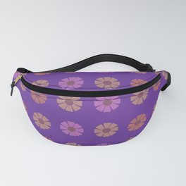 Flower Totes Pattern Fanny Pack
