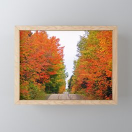 Rolling Through the Hills of Autumn Framed Mini Art Print
