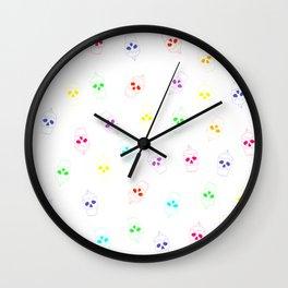 Skullcake multicolor Wall Clock