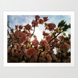 FlowerRing  Art Print