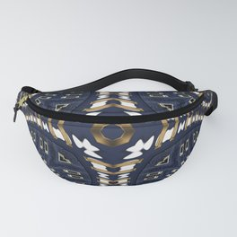 Liquid Denim Blue Fanny Pack