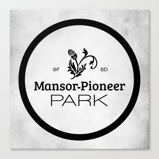 Mansor-Pioneer Park Canvas Print