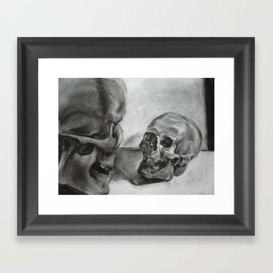 Dialouging Framed Art Print