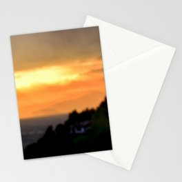 Torino Sunset No.2   Nadia Bonello Stationery Cards