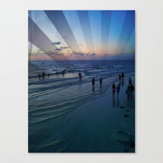 True Blue Canvas Print