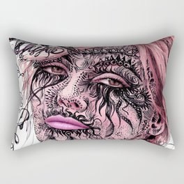 Beauty Devourer Rectangular Pillow