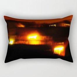 Ophiuchus; Festival Fire. Rectangular Pillow