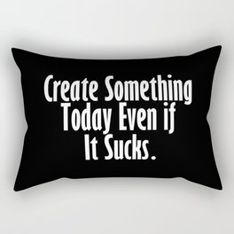 Create Something P-5 Rectangular Pillow