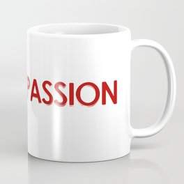 Love is different than Passion Concept Design Coffee Mug