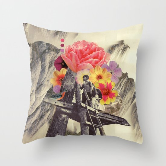 the truest thing we'd ever known Throw Pillow