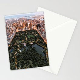 Central Park New York Stationery Cards