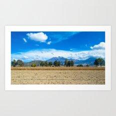 Puebla Art Print