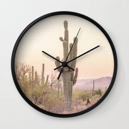 Arizona Desert Wall Clock