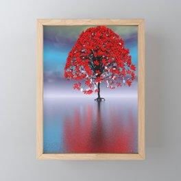 strange light somewhere -17- Framed Mini Art Print