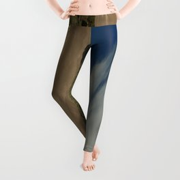 High Mountains and Sand Dunes Leggings
