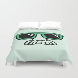 Too Cool (green) Duvet Cover
